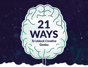 How to; 21 Ways to Get Inspired (Infographic)